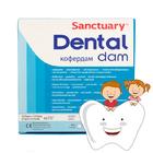 Платки коффердама (маленькие) для детского приема  Dental Dam Sanctuary