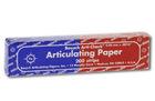 Артикуляционная бумага Bausch BK80 (40 мк) сине-красная
