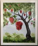 """Картина """"Зубное дерево"""""""